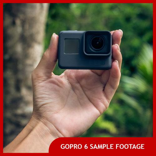 GoPro hero 6 sample footage