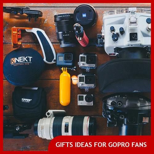 gopro fan gift ideas