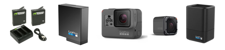 Replacement GoPro Battery Packs & Extra GoPro Batteries