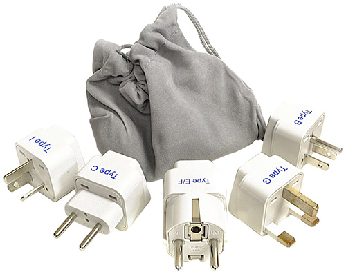 Best travel power adapter for Greece