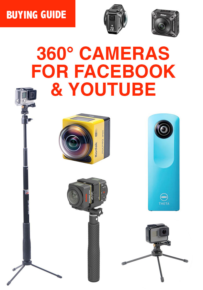 What is the Best 360 Camera for Facebook & YouTube? 360 Degree Videos & Photos