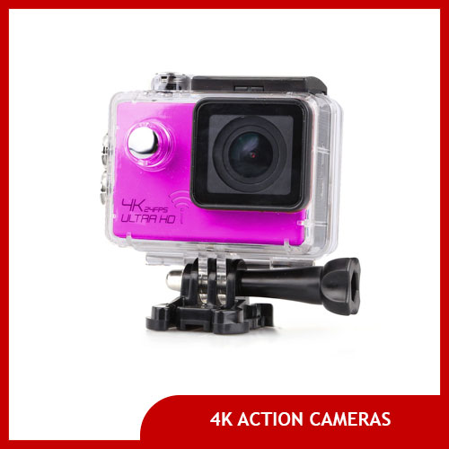 Action Cameras/GoPros That Shoot in 4K